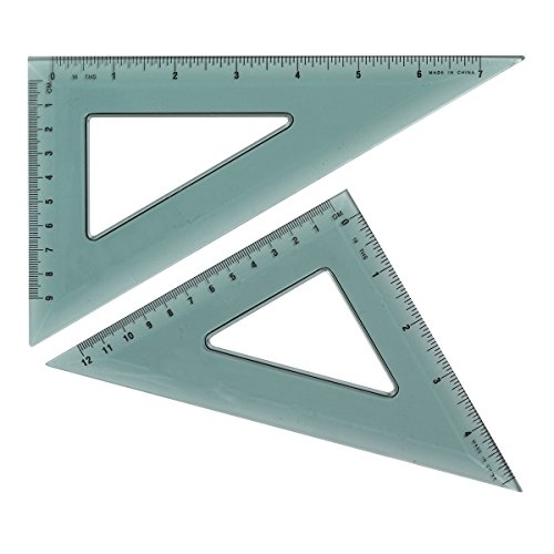 (Westcott Triangular Scale (KT-90), 2/pkg)