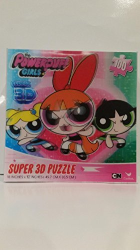 The Powerpuff Girls Super 3D Jigsaw Puzzle for -