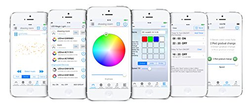 Flux-WiFi-Smart-LED-Light-Bulb-Works-with-Alexa-Smartphone-Controlled-Multicolored-Color-Changing-Lights-Dimmable-Night-Light