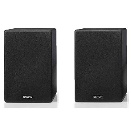   For Smaller Rooms and Houses WiFi Denon CEOL-N10 Hi-Fi All-in-One Receiver /& CD Player with Bookshelf Speakers Airplay 2 Bluetooth Wireless Music Streaming /&  Alexa Compatibility Pair