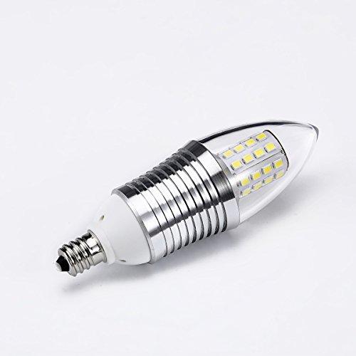 lohas 9 watt led light bulbs crystal white glow 5000k led chandelier bulb. Black Bedroom Furniture Sets. Home Design Ideas