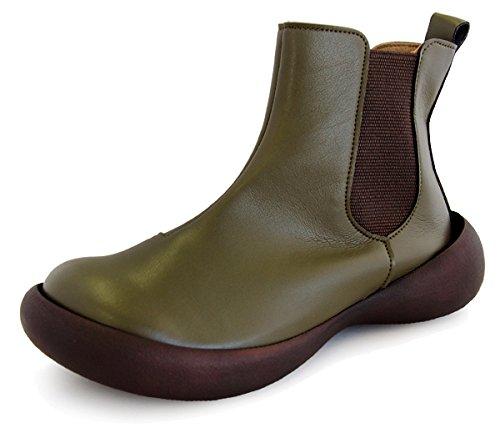 [リゲッタカヌー] ブーツ フィールドグリップ CJFG1123 B075W8Q6NZ S (22.5-23cm)|カーキ カーキ S (22.5-23cm)