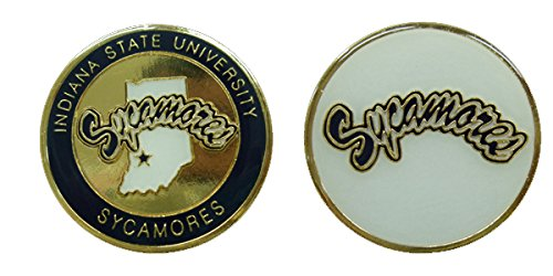 Indiana State University Sycamores Challenge Coin by Coin and Coins
