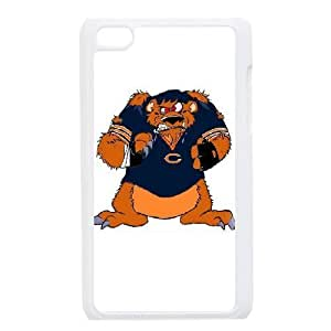 iPod 4 White Cell Phone Case Chicago Bears NFL Phone Case Cover Protective Customized NLYSJHA1498