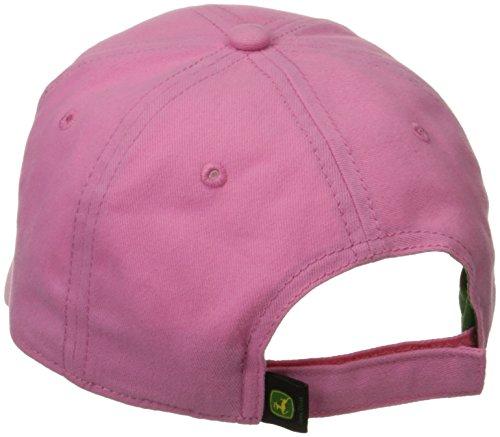 John Deere Big Girls' Trademark Baseball Cap, Pink, One Size