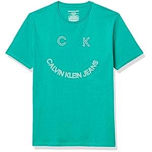 Best Epic Trends 41Nnu46t7UL._SS300_ Calvin Klein Boys' Pop Up Logo Crew Neck Tee Shirt