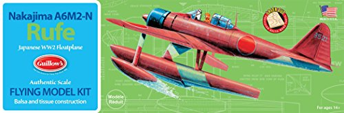 Guillow's Nakijima A6M2-N Rufe Model Kit