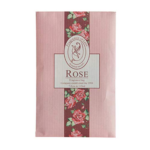 5 bolsas aromáticas con aroma de aroma, bolsa de ambientador, desodorante para coches, flores, para colgar ambientadores,...