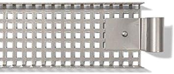 Kabelhalterung inklusive Schrauben Kabelf/ührung f/ür den Schreibtisch 9,5 x 5,0 x 132,0 cm Kabelkanal f/ür Tischgestell E2 farblos