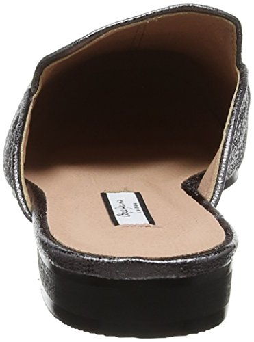 Pepe Jeans London Damen Klimpt Tse Slipper Silber (Chrome)