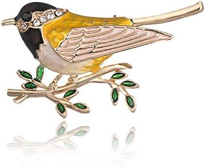 ブローチ レディース メンズ 子供用 かわいい 鳥のブローチピン ジュエリー デザイン 文芸 魅力 美しい