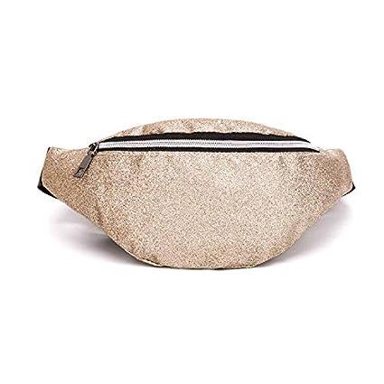 4163ef9d2928 Waist Packs - 2019 Women Phone Pouch Bag Handbags Pu Leather Sequins  Shoulder Bags Waist Pack