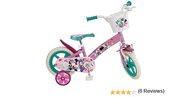 Toimsa 609 EN71 - Bicicleta infantil con licencia de Minnie Mouse ...