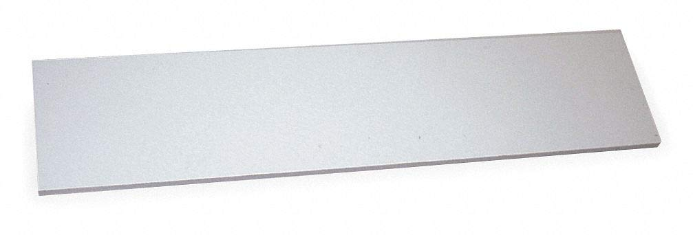 Particle Board Shelf, Laminated Finish, White, 72''W x 12''D x 5/8''H
