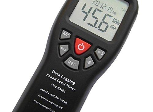Digitales messgerät dezibel klangliche ebene 30 130db luftdruck