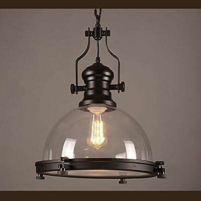 NIUYAO Nautical Glass Pendant Light and fan light