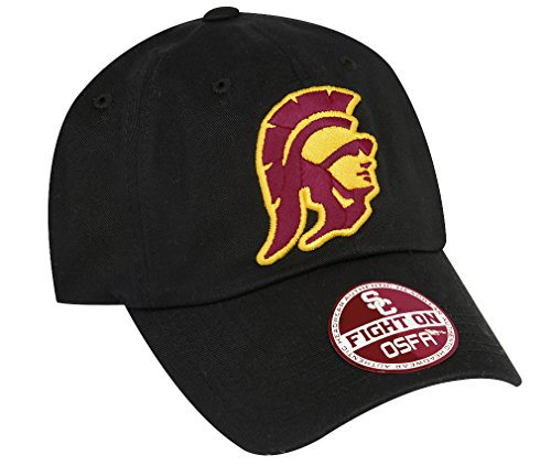 NCAA USC Trojans-Cotton Crew-Adult Adjustable Strapback-Hat - Usc Hat