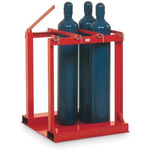 - Meco Cylinder Pallet Rack - 6-Cylinder Capacity