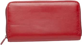 Coupon and Receipt Organizer by Buxton (Red)