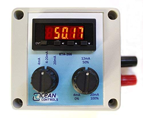 4-20mA Loop Powered Generator with Backlit LED Display