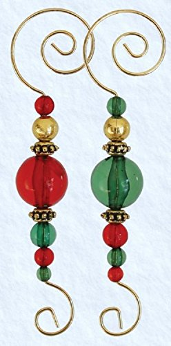 Old World Christmas Christmas Ornament Beaded Hooks (6 Pack) by Old World Christmas