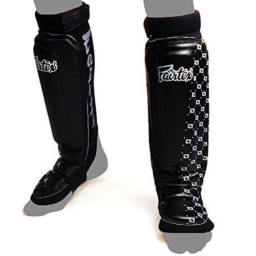 Fairtex Shin Pads SP6 MMA Style Shin Guard Thai Boxing Shin Guards Muay Thai Protective