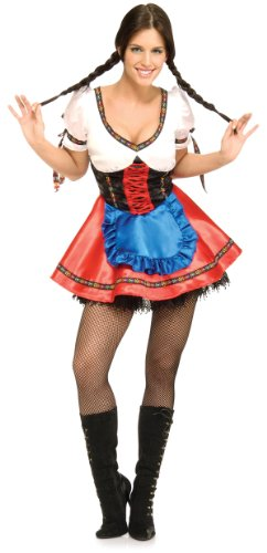 Beer Garden Girl Sexy Costume - Womens Medium -