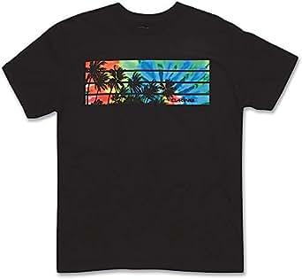 Dakine Black Mixed Round Neck T-Shirt For Men