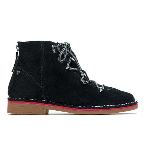 - Hush Puppies Catelyn Hiker Boot Women 7.5 Black Suede