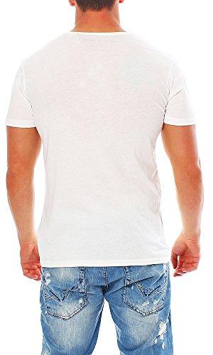 Silent Theory Herren T-Shirt Kurzarm Shirt Poloshirt TESTIMONIAL