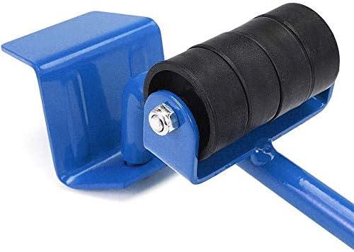 herramientas de movimiento pesadas m/áximo para 150 kg Elevador de muebles con 4 unidades deslizantes m/óviles juego de rodillos m/óviles para muebles almohadillas giratorias de 360 grados