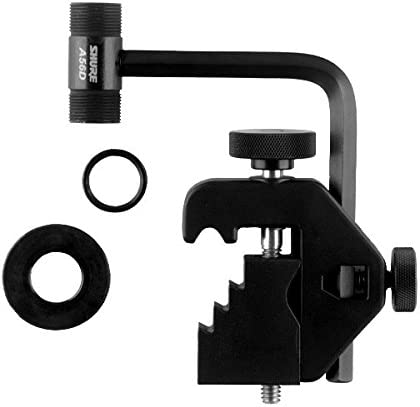 Shure A56D Universal Microphone Drum Mount Accommodates 5/8-Inch Swivel Adapters