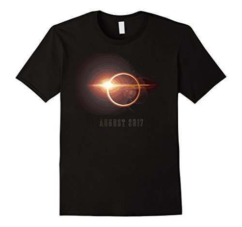 Mens Solar Eclipse August 2017 T Shirt 2Xl Black