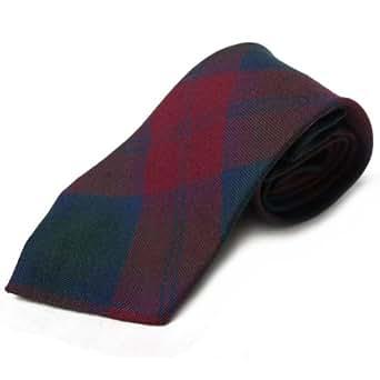 Corbata estilo tartán para hombre - 100% lana - Lindsay