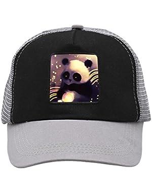 Unisex Lovely Panda Bearcat Adjustable Classic Hiphop Hat Baseball Cap Snapback Dad Hat