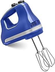 KitchenAid KHM512TB 5-Speed Hand Mixer, Twilight Blue