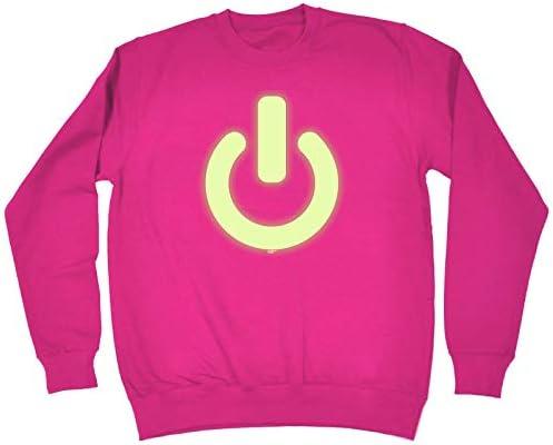 Power On Button Sweatshirt