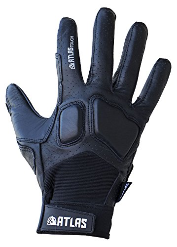 - Atlas Truck Co. Touch Longboard Slide Gloves Small/Medium Black, (Set of 2)