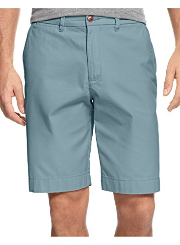 Tommy Hilfiger Academy Chino Shorts Size 36 Light Canoe Blue Coupe Classic Fit