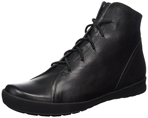 Think Zagg, Stivali Desert Boots Uomo Nero (Sz/Kombi 09)