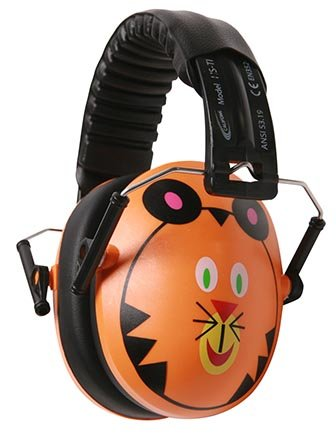 CALIFONE Tiger Hush Buddy Ear Muffs