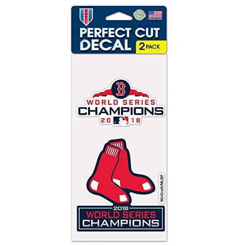 (WinCraft Boston Red Sox 2018 World Series Champions 2-Pack 4