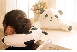 Smile YKK Vivid 3D Animal Throw Pillow U Shape Sleep Cushion Set Pink Pig