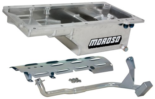 Moroso 21150 Oil Pan for Chevy Small-Block - Moroso Windage Tray Louvered
