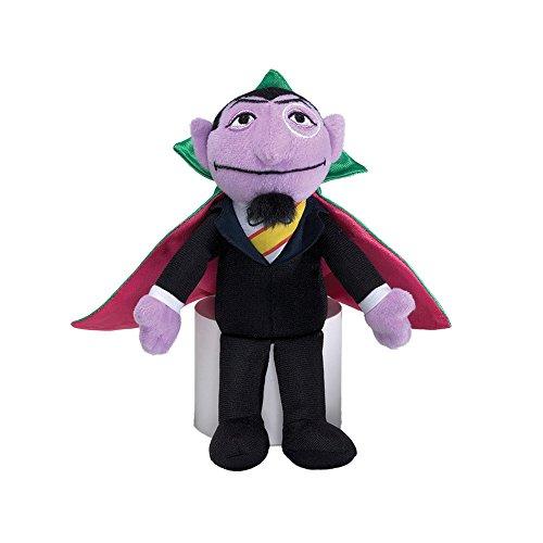 Sesame Street Count Beanbag 7-Inch
