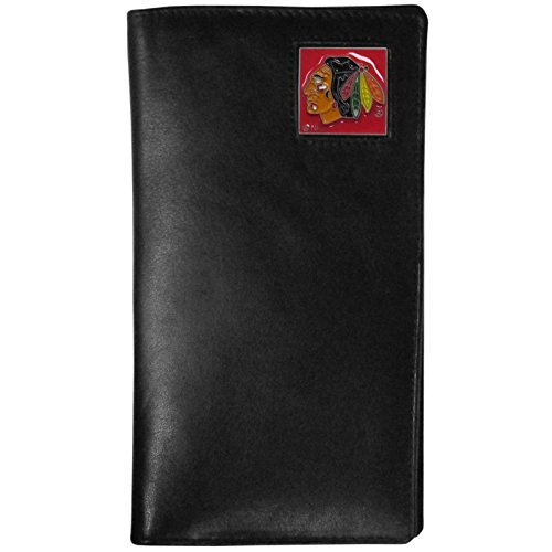 (NHL Chicago Blackhawks Tall Leather Wallet)