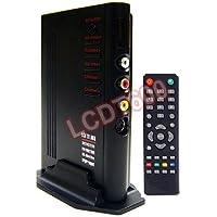 Universal TV Tuner + RF Coax Composite Video To VGA Converter Switch