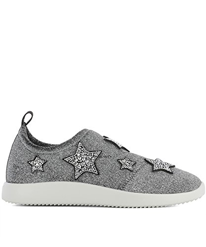 Donna Altri RS80038001 Sneakers DESIGN GIUSEPPE On Argento ZANOTTI Slip Materiali Cxn7pnqHw