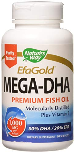 Mega-DHA 60 Softgels (Pack of 2)