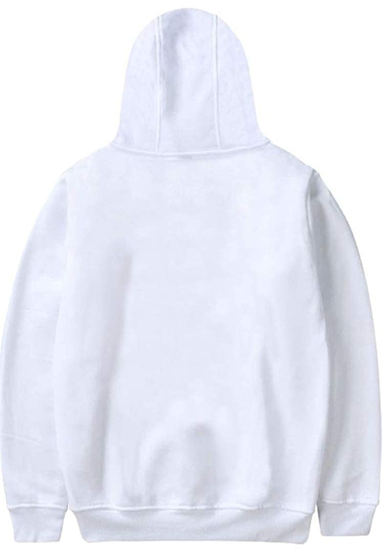Silver Basic Skull Printed Sweatshirt Parent-Child Hoodie Inspired by Xxxtentacion Rapper RIP Hip Hop Hoodie